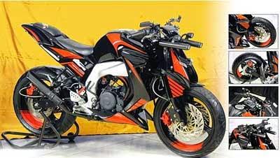 gambar motor modifikasi Byson