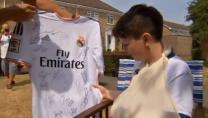 Cristiano Ronaldo casse le poignet d'un enfant