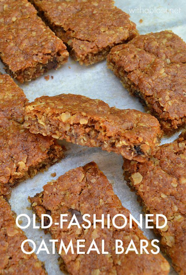 Old Fashioned Raisin Bars Recipe Clipping « m 41
