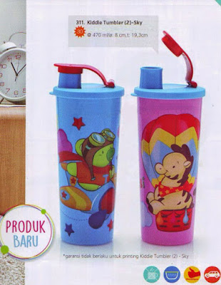 Tupperware Kiddie Tumbler Sky
