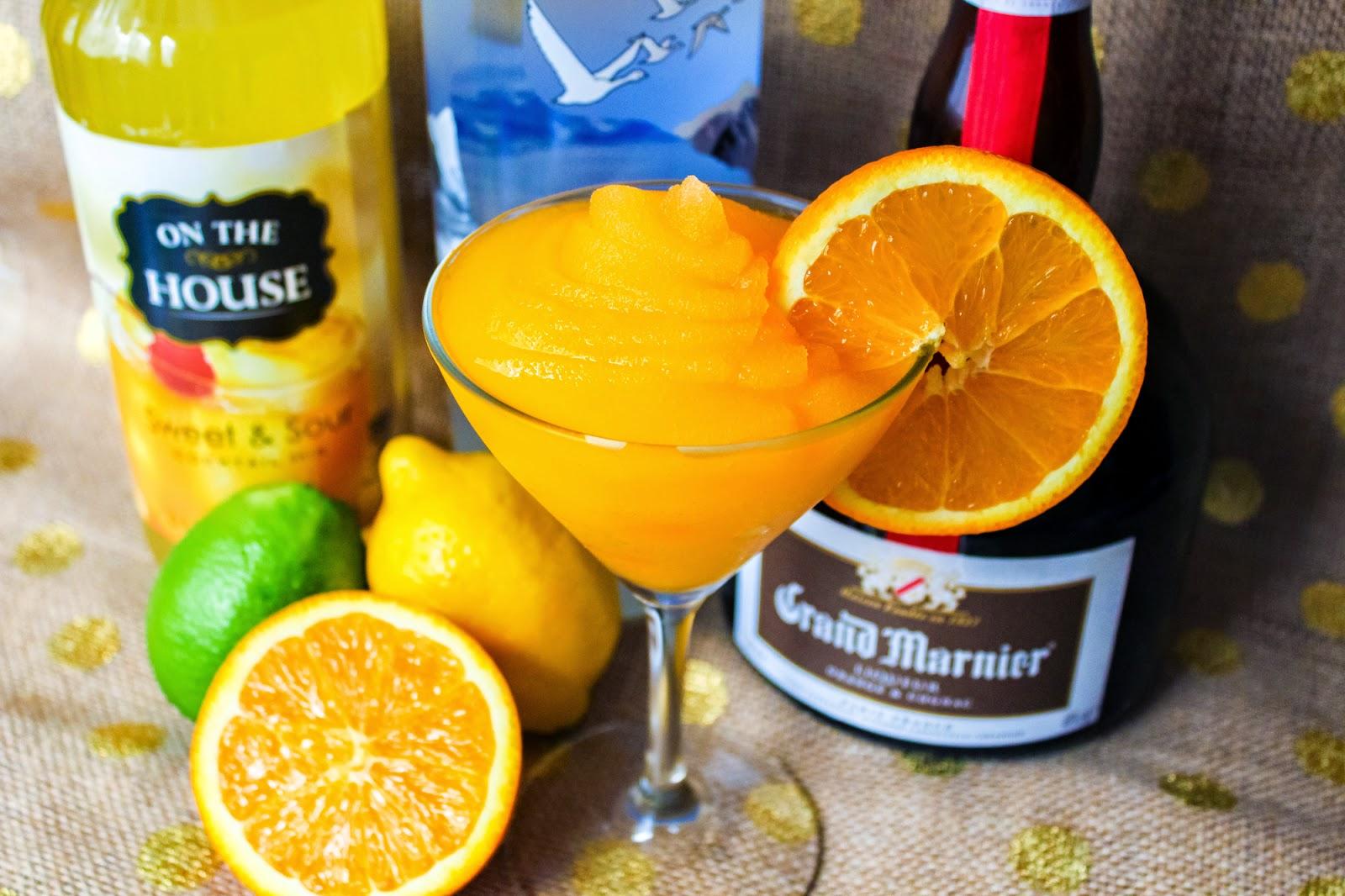 Orange Grand Marnier Slush
