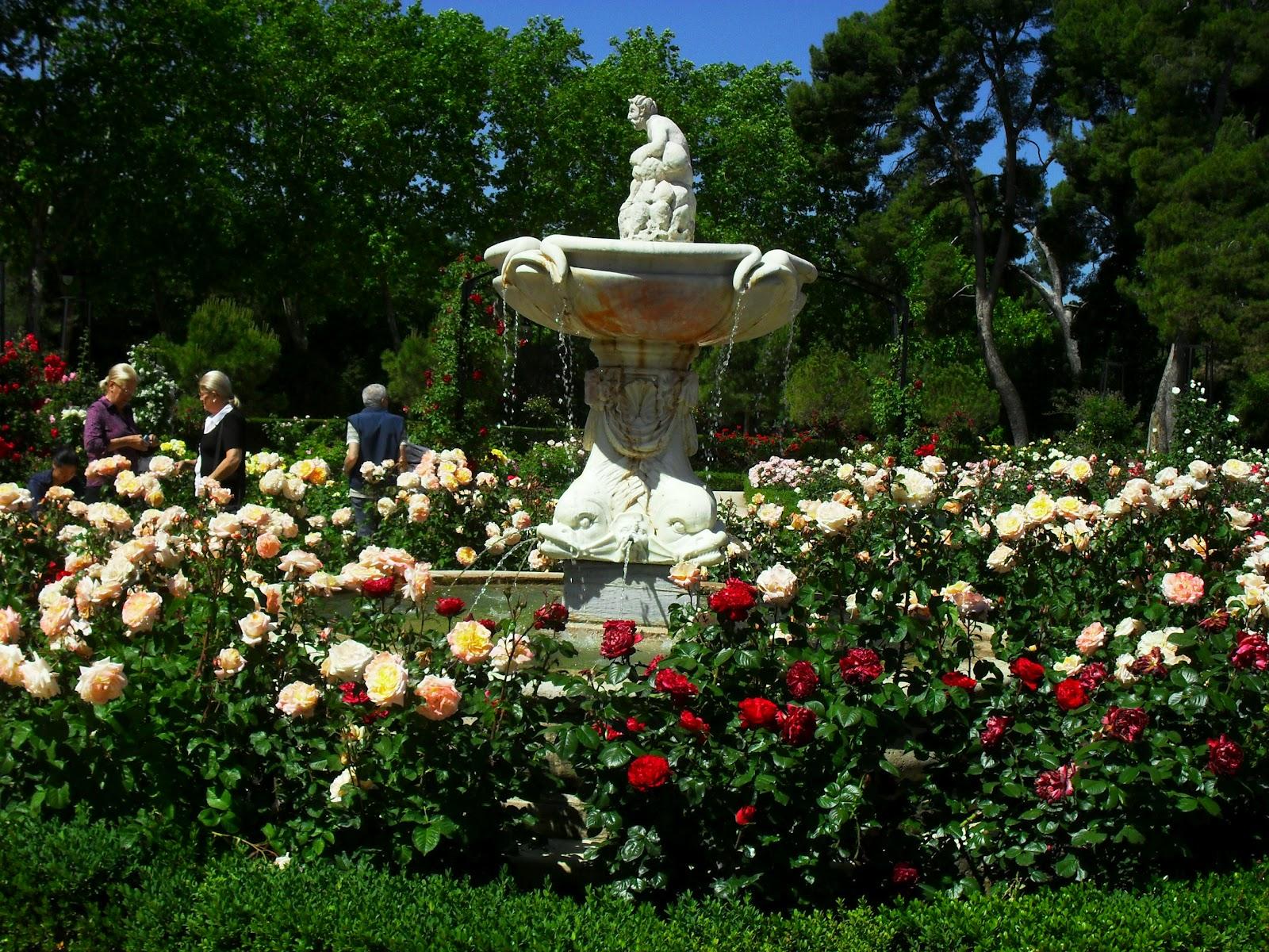 Arte y jardiner a el jard n de rosas - Cosas para jardin ...