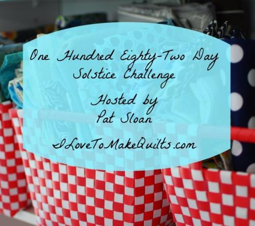 182 Day Solstice Challenge