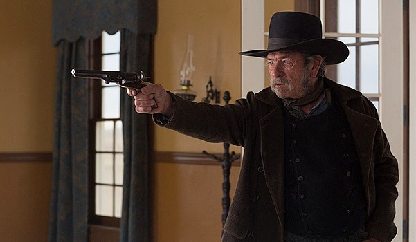 Hilary Swank, Tommy Lee Jones and others in the new trailer western