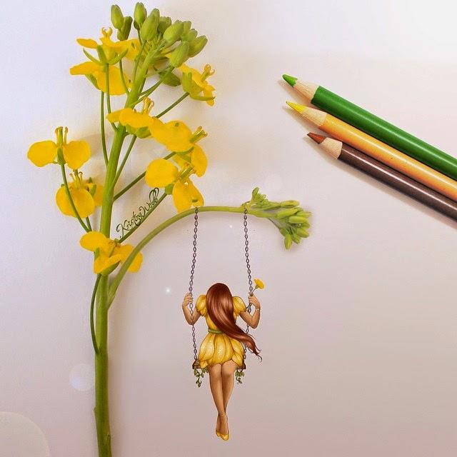 11-Swing-Kristina-Webb-Colour-me-Creative-Drawings-www-designstack-co