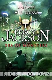 Percy Jackson Sea of Monsters Book Cover
