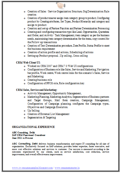 cover letter sap consultant looking for someone to edit