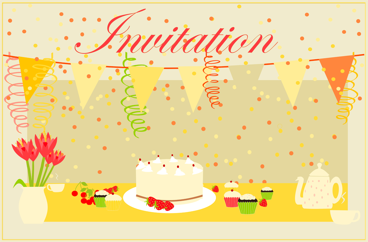 printable cards birthday invitations
