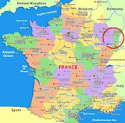 France Carte Ville france