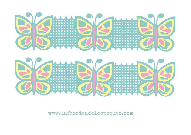 Imprimibles y moldes gratis cenefas infantiles para decorar la f brica de los peques - Cenefas infantiles para imprimir ...