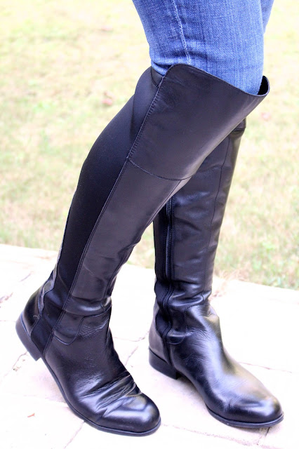 Tiffanyd my boot picks for fall ootd fall trends vol 2 for Franco sarto motor over the knee boots