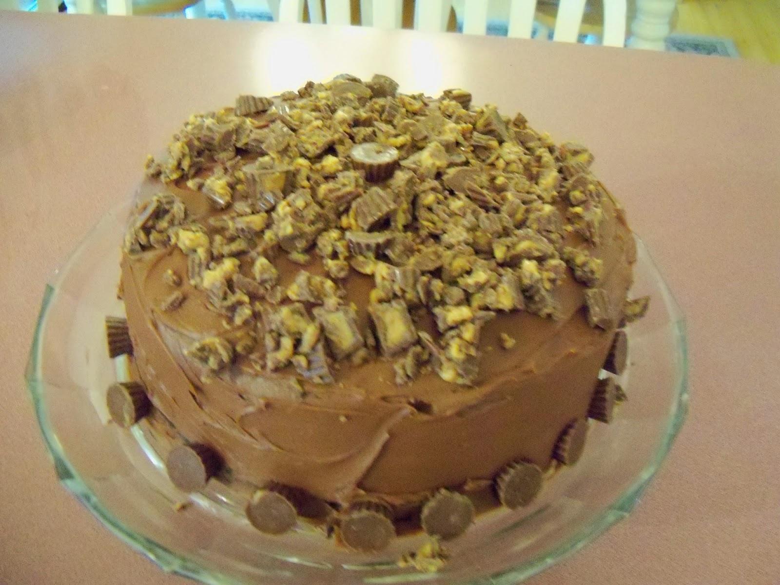 The Blue Spotted Owl Happy Birthday Jessica Chocolate Pb Cake