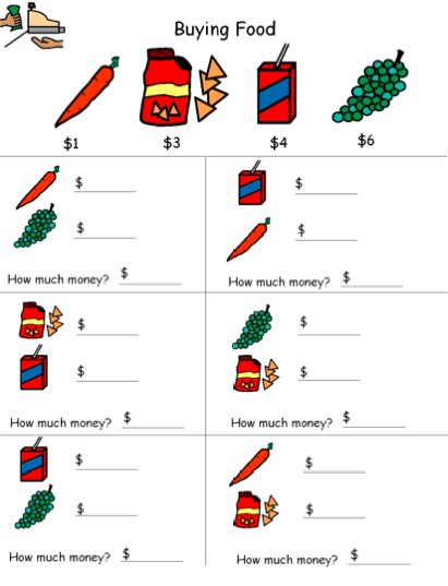 Autism Tank: Money Counting Visuals