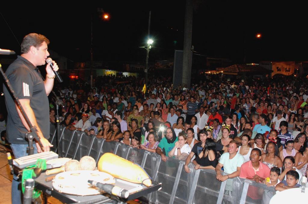 Arlei anuncia em Bonsucesso a vinda a Teresópolis de atrações nacionais