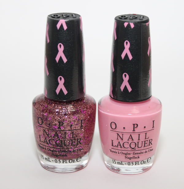 OPI Pink of Hearts 2012 Breast Cancer Awareness Duo   Review    Opi Pink Of Hearts 2012
