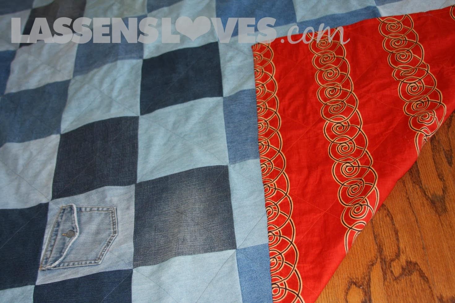 lassensloves.com, Lassen's, Lassens, jeans+blanket+, denim+blanket, up+cycle