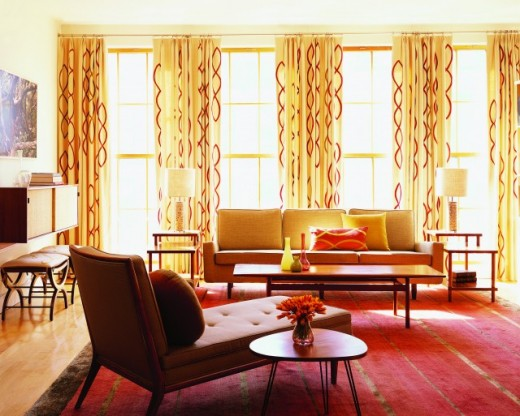 Modern Furniture Modern Living Room Curtains Design Ideas