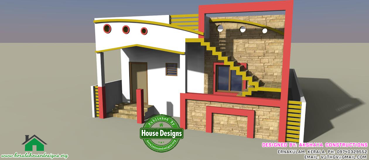 Low Cost And Budget Kerala Modern House Design