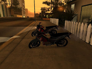 Cara Install MOD Motor Satria FU150 di Game GTA San Andreas PC