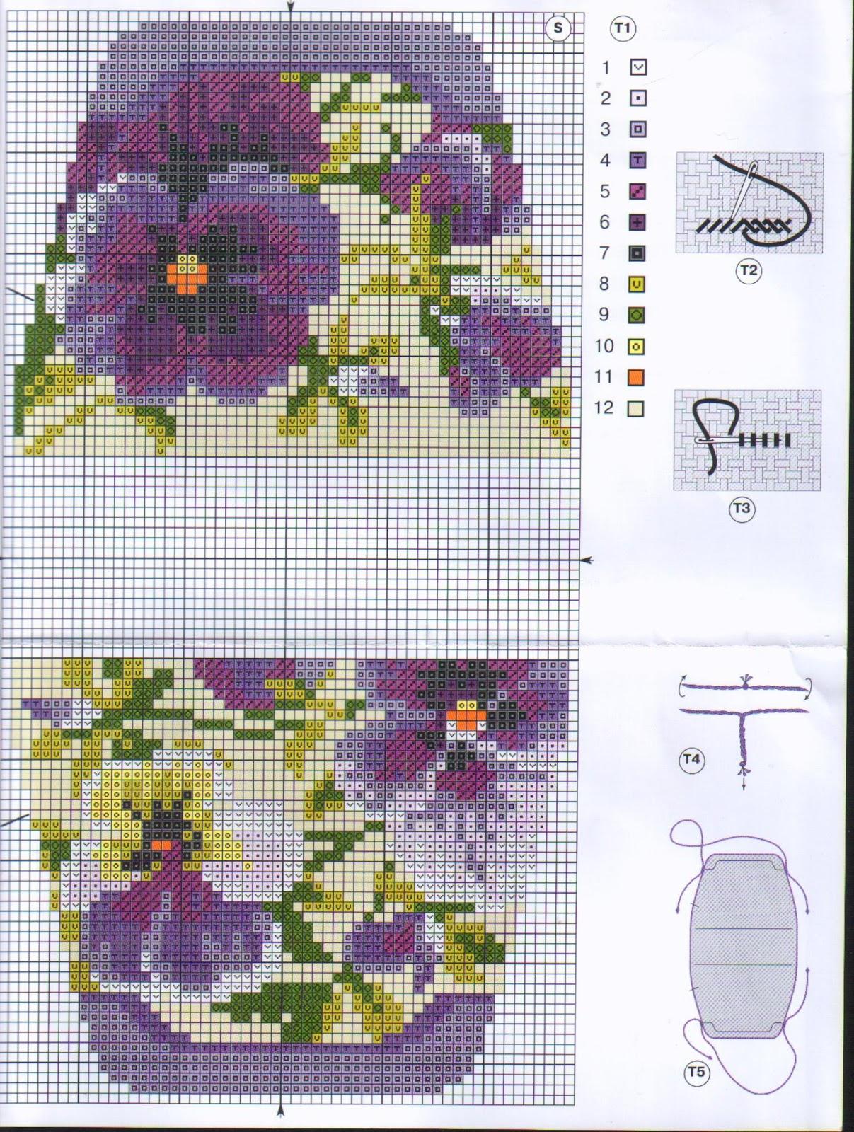 Схемы вышивок сумок бисером