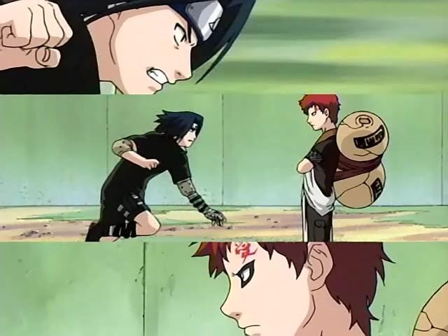 jeshippuden sasuke vs gaara classico