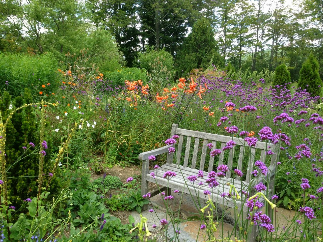 Collage of Life: A Country Garden in Vermont