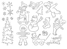Vintage Christmas designs