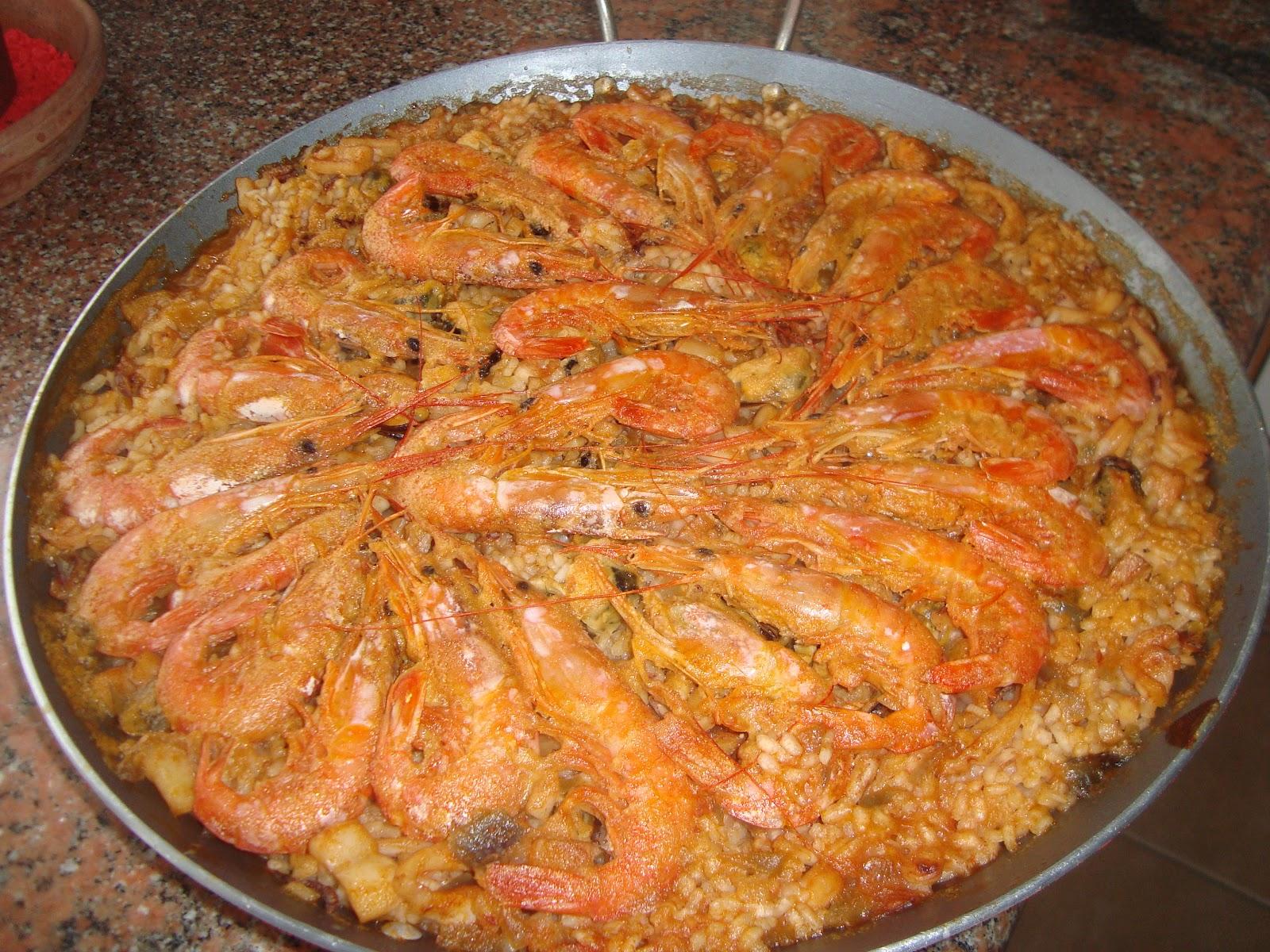 Blog de recetas de cocina caseras paella de pescado - Paella de pescado ...