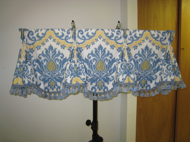 Leatherwood Design Co Queen Anne Valance And A Lesson In