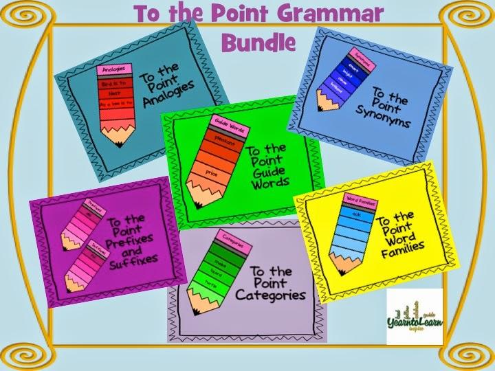https://www.teacherspayteachers.com/Product/To-the-Point-Grammar-Bundle-1274663