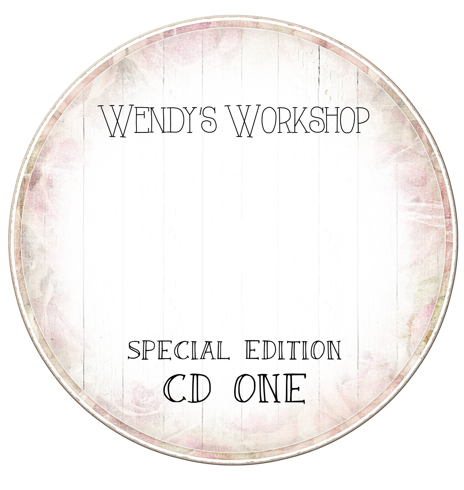 WENDY'S WORKSHOP SPECIAL EDITION ONE £14.99