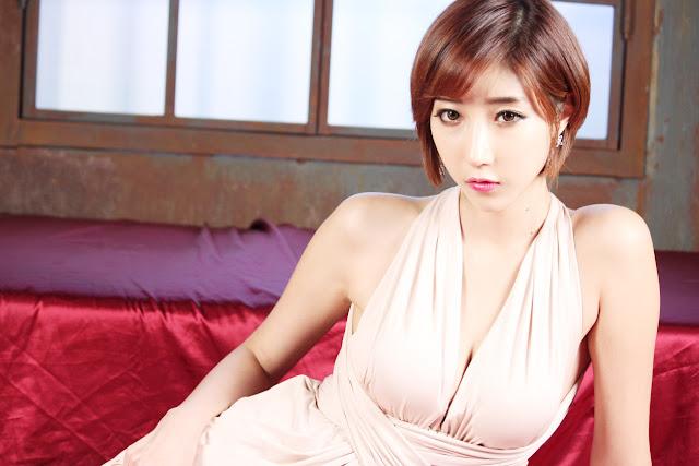 1 Yu Ji Ah - Studio Set - very cute asian girl-girlcute4u.blogspot.com