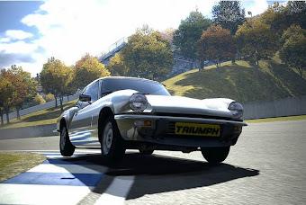 """Spitfire dans le jeu vidéo  """"Gran Turismo"""""""