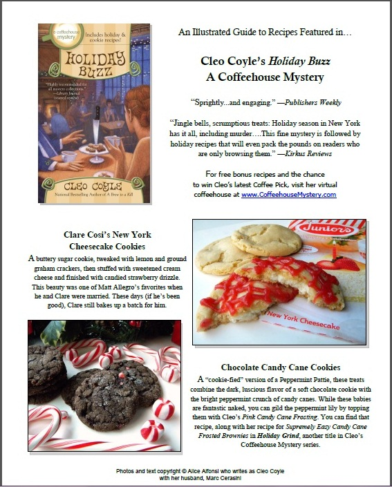 Click below to see the Recipes in Cleo's Books...