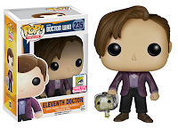 Funko Pop! Eleventh Doctor holding Cyberman Head