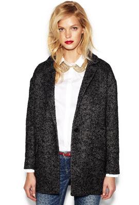 Blanco otoño invierno 2012 2013 catálogo mujer chaquetas