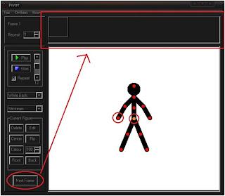 Pivot Stickfigure Animator Screen Shot :