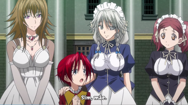 High School DXD BoRn - Episódio 05