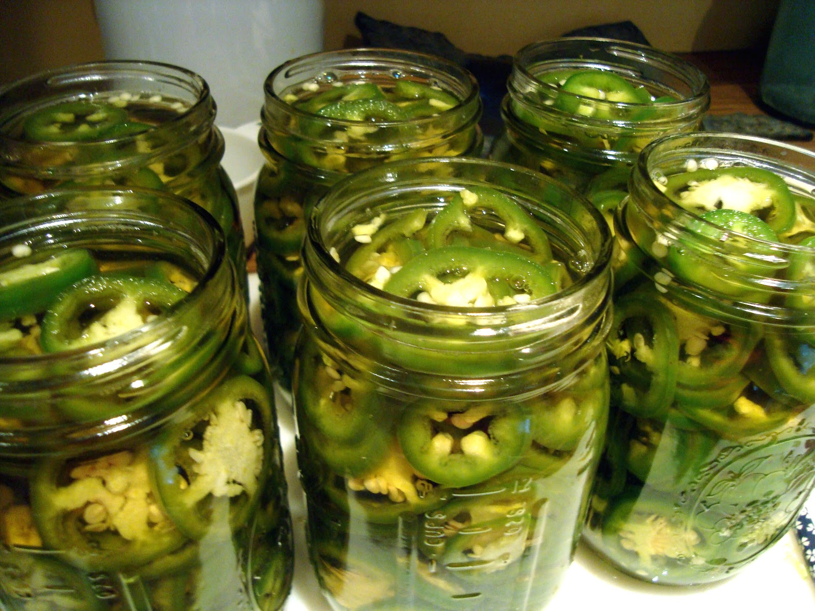 Pickled Jalapeno Slices- makes 4 to 5 pint jars