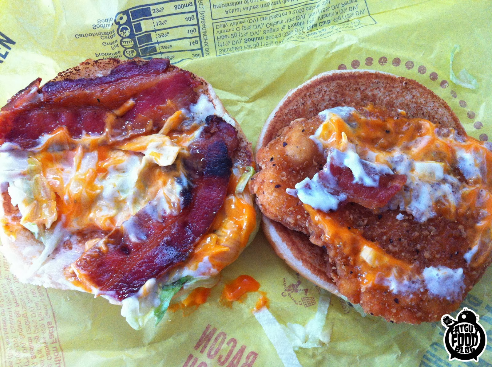 Bacon Buffalo Ranch McChicken