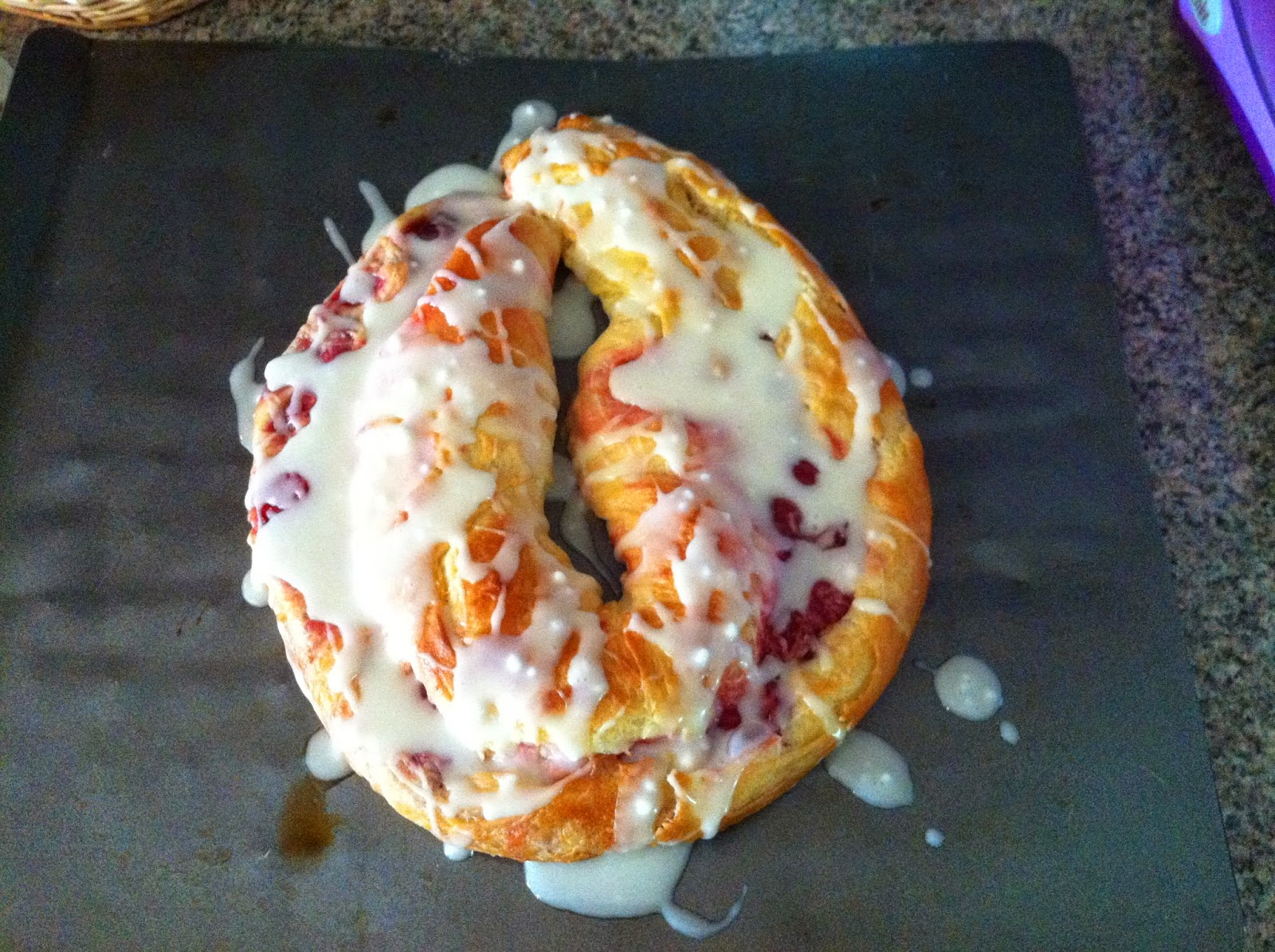 pastry cherry kringle Danish delicious breakfast 3 days recipe