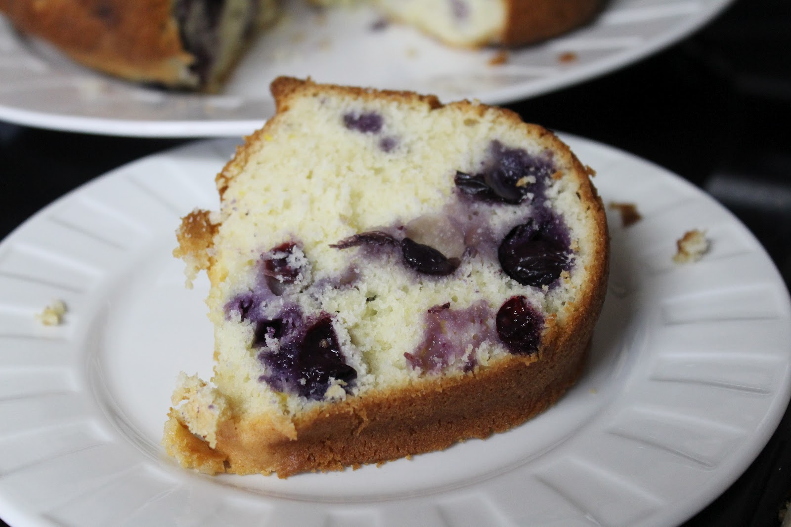 Blueberry Lemon Pound Cake - Julie's Eats & Treats