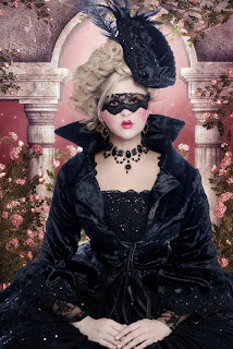 Fantasy Gothic Marie Antoinette Dresses for Halloween