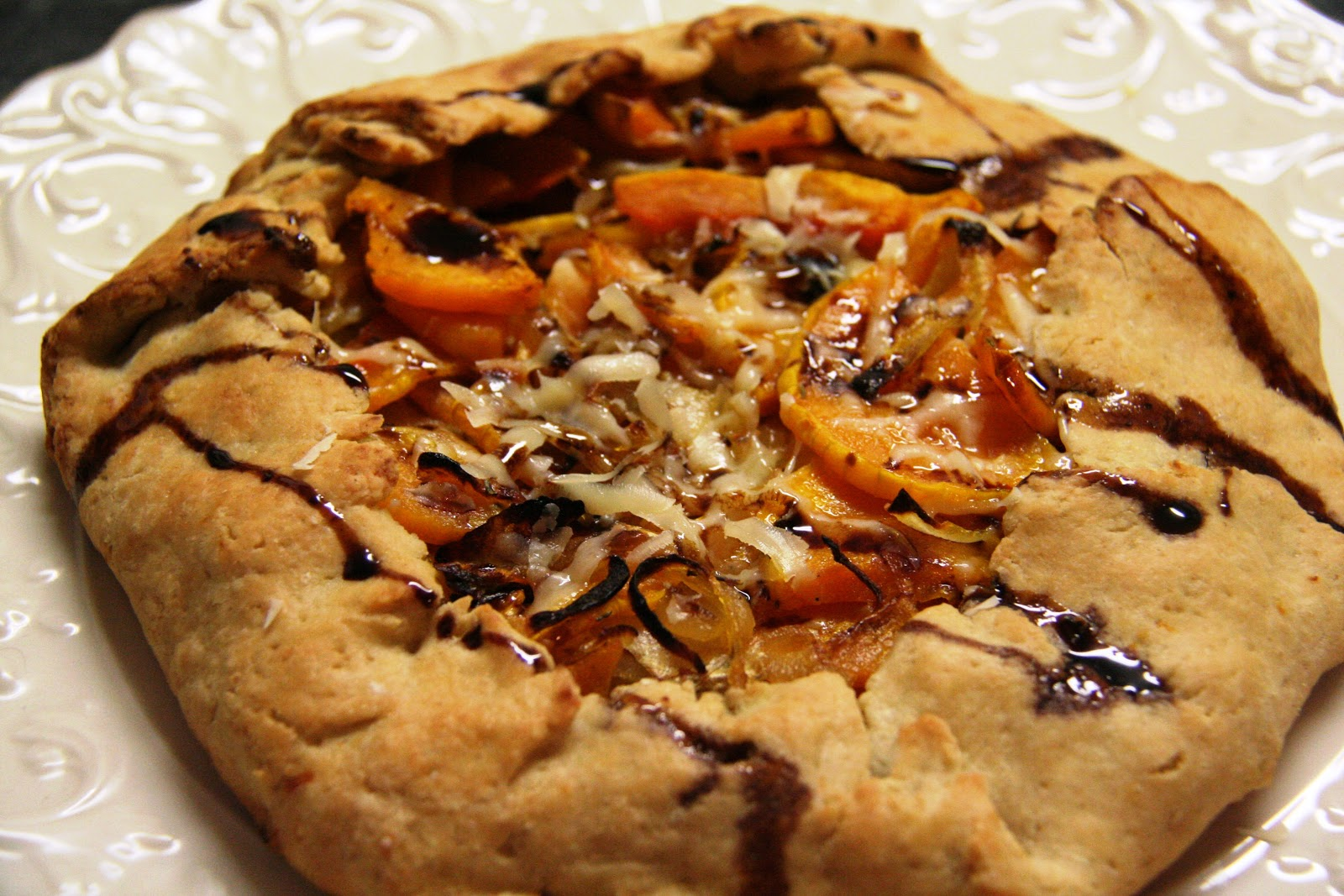 Butternut Squash Galette | The Diary of a Foodrunner