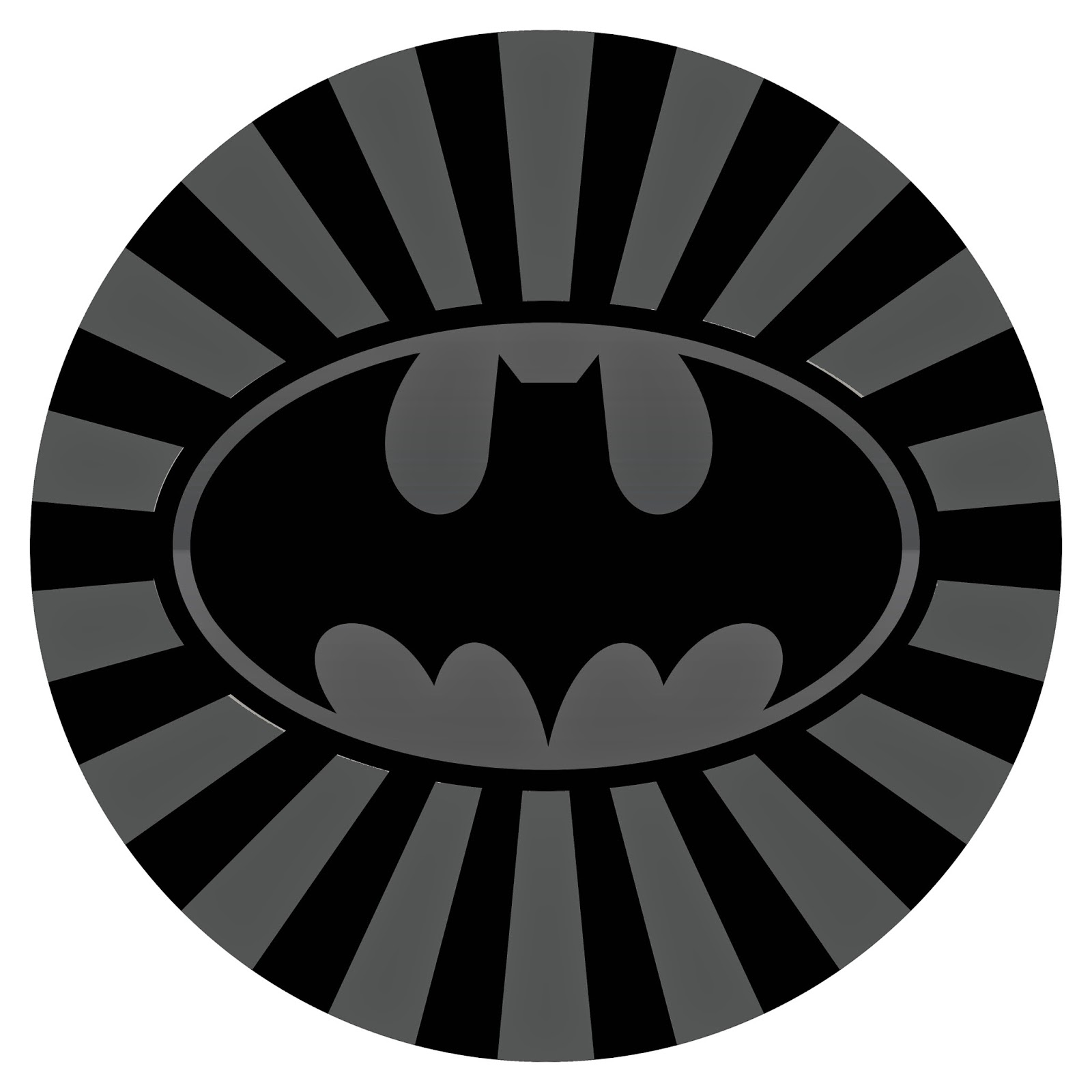 Sarung Ban Serep Mobil Tema Kartun Logo Batman