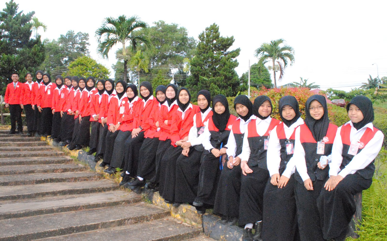 PENGAWAS PUSAT AKSES SMK BALUNG SESI 2015