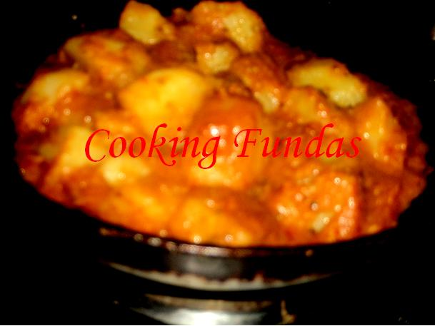 Cooking fundas aloo dum aloo dum is an easy indian food recipe prepared with baby potatoes that are simmered in a curd based sauce and spiced with garam masala thecheapjerseys Image collections