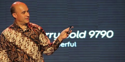 Jim Balsillie CEO RIM Indonesia BlackBerry Bold9790 Curve9380