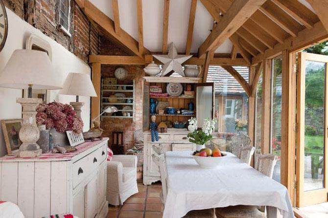 Un faro de ideas casa blanca base de una decoraci n vintage - Casas blancas bonitas ...