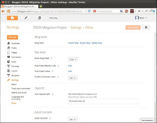 Importer et exporter des blogs sur Blogger
